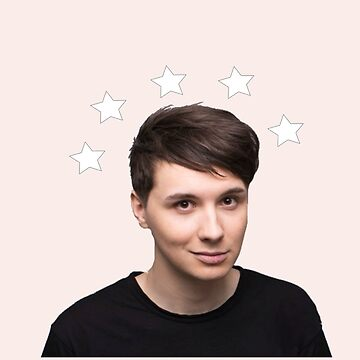 Dan Howell Star Halo - Baby Pink by phabbyhowell
