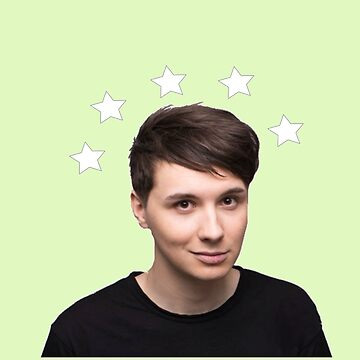 Dan Howell Star Halo - Green by phabbyhowell