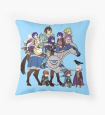 Fire Emblem Awakening - Frederick's Daycare Service Throw Pillow