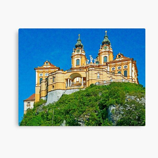 Austria - Melk abbey Canvas Print