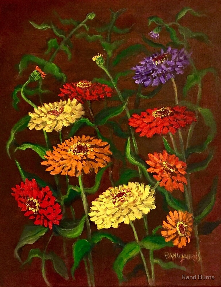 Flowers of Mexico by Randy Burns