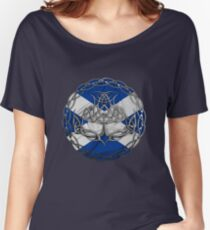 Chrome Celtic Knot Thistle Women's Relaxed Fit T-Shirt