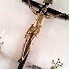 Christ crucified. by ALEJANDRA TRIANA MUÑOZ