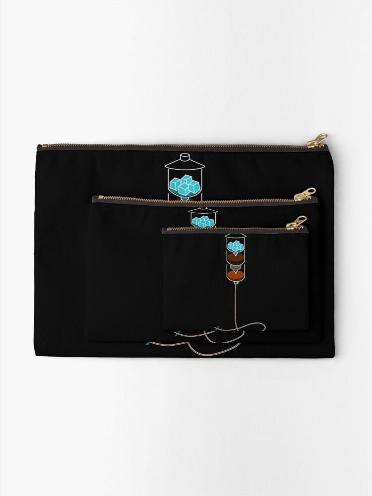 Alternate view of Cold Drip IV Zipper Pouch