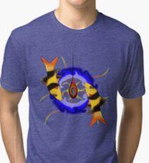 Macrachantis V1 - digital vision Tri-blend T-Shirt