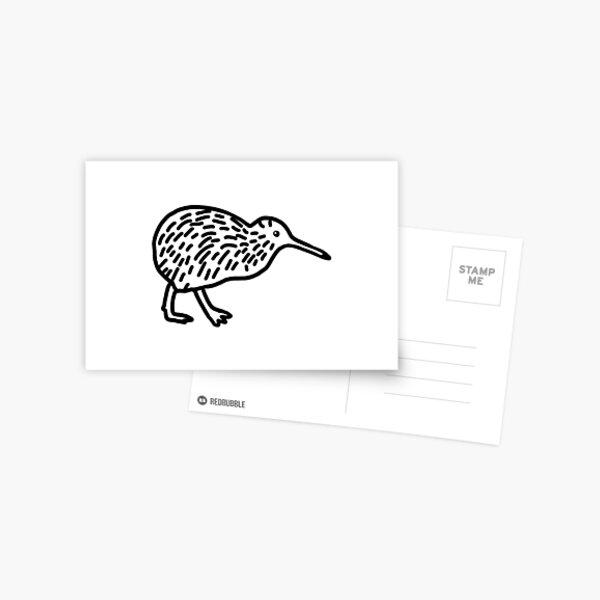 Hello Kiwi Postcard