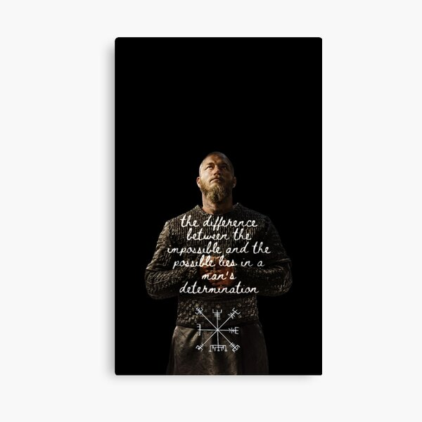 Ragnar Lothbork - Wikinger Leinwanddruck