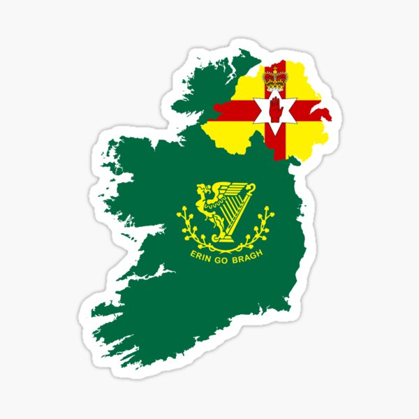 Divided Ireland Sticker
