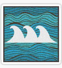 Wave Art Sticker