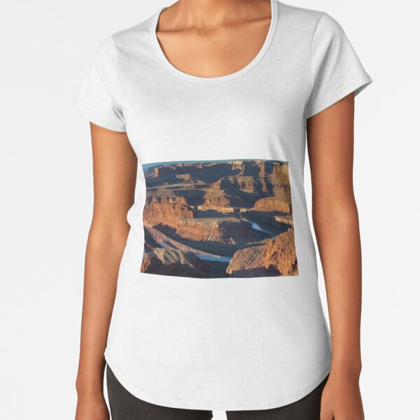 Utah Shirts Moisture-Wicking Dead Horse Point State Park T-Shirt Soft Comfortable Polyester Unisex and Women/'s Cut Utah Gifts
