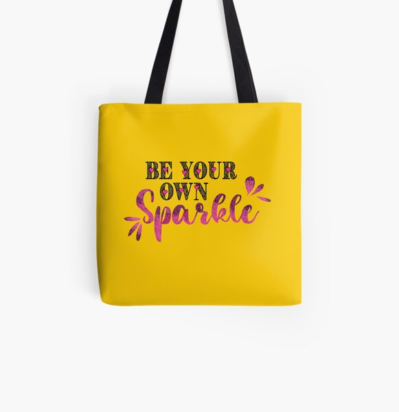 Sparkle All Over Print Tote Bag
