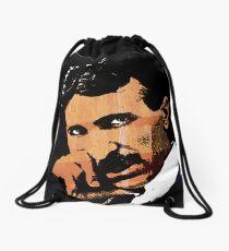 Nikola Tesla-2 Drawstring Bag