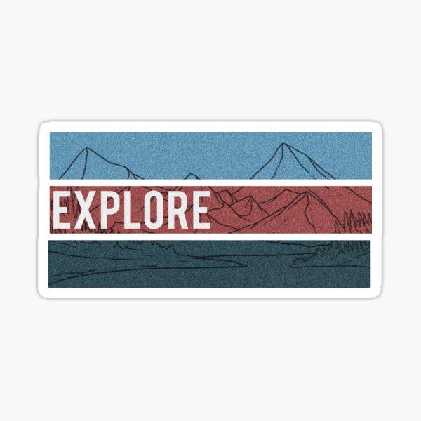 Explorer Sticker