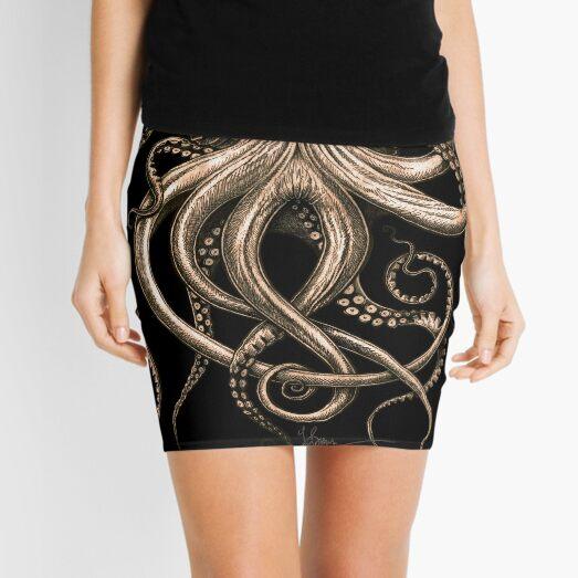 Bronze Kraken Mini Skirt