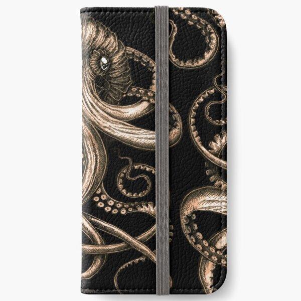 Bronze Kraken iPhone Wallet