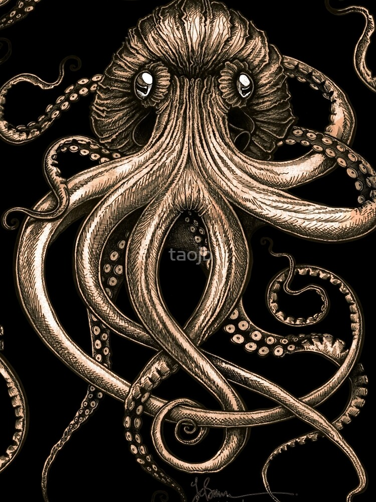 Bronze Kraken by taojb