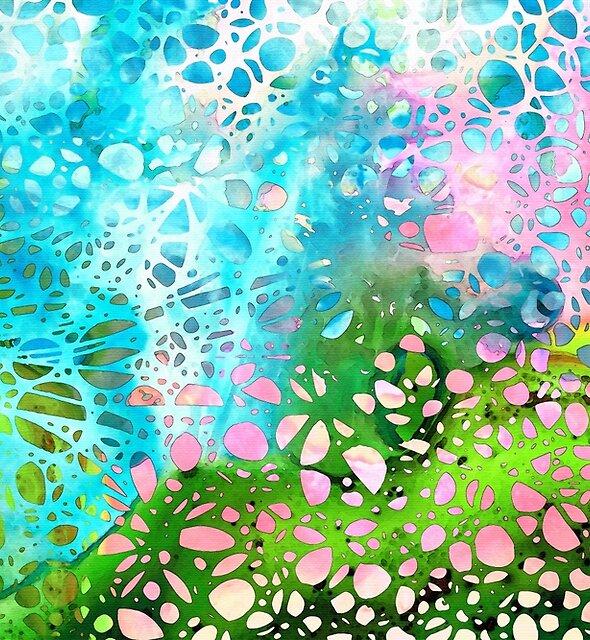 Colorful Art - Enchanting Spring - Sharon Cummings by Sharon Cummings