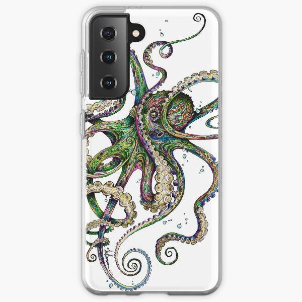 Octopsychédélie Coque souple Samsung Galaxy