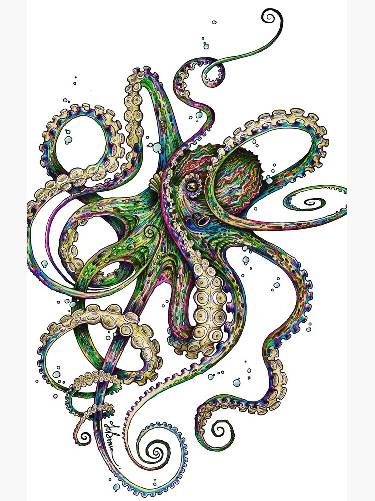 Octopsychedelia by taojb