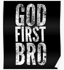 God First Bro Poster