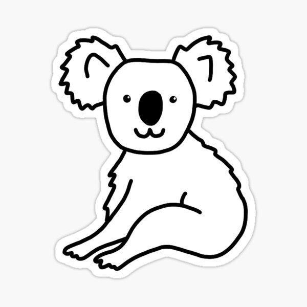 Hello Koala Sticker