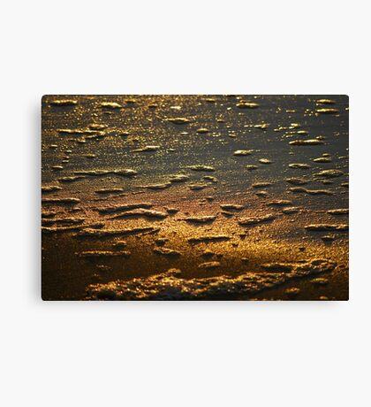 Dawn Water 'Whitewash' Canvas Print