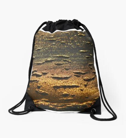 Dawn Water 'Whitewash' Drawstring Bag