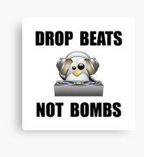 Drop Beats Canvas Print