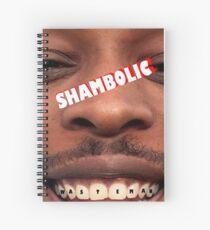 SHAMBOLIC Wasteman Spiral Notebook