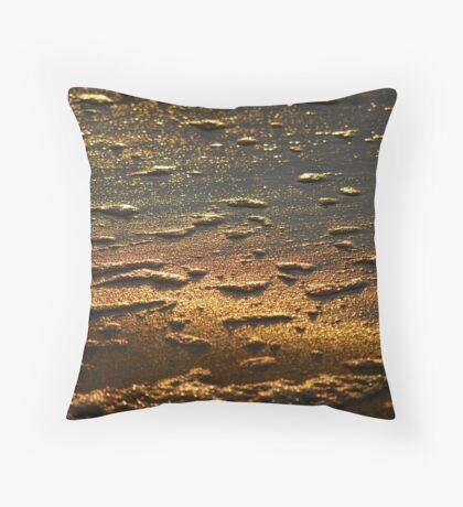 Dawn Water 'Whitewash' Throw Pillow
