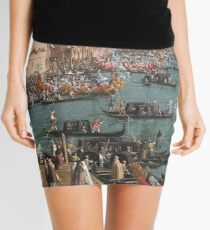 Venice art Mini Skirt