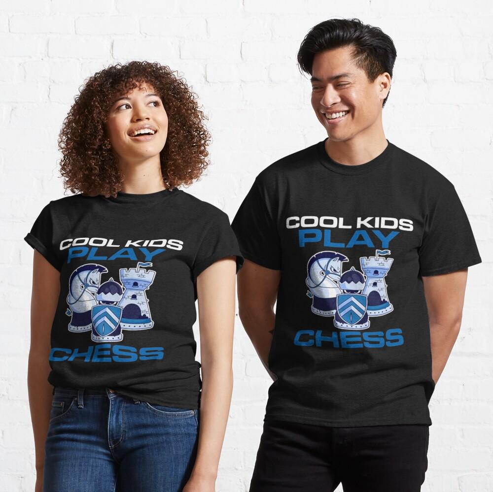 Cool Kids Play Chess King Classic T-Shirt