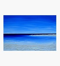 in bluer skies Photographic Print