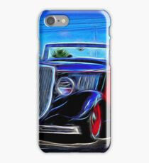 black ragtop iPhone Case/Skin