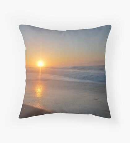 Croajingolong Sunrise Throw Pillow