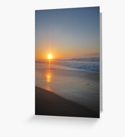 Croajingolong Sunrise Greeting Card