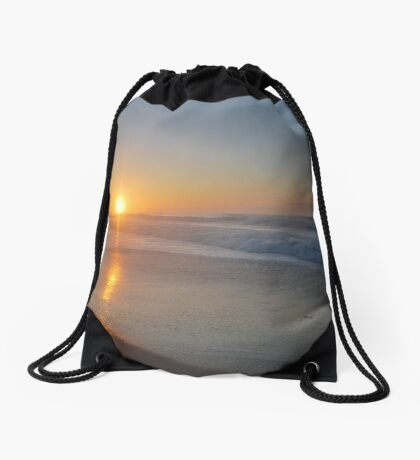 Croajingolong Sunrise Drawstring Bag