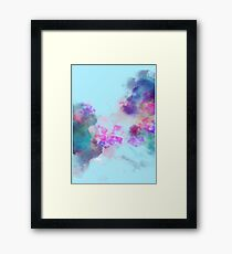 Ocean Galaxy Framed Print