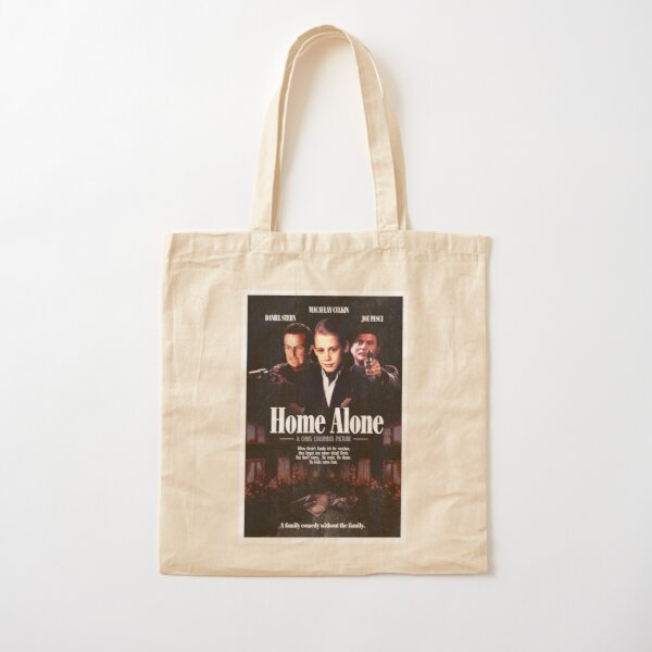 HOME ALONE 1990 (Goodfellas 1990 parody) Cotton Tote Bag