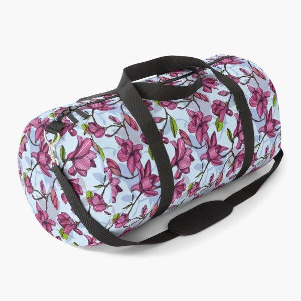 Flowering Magnolia Duffle Bag