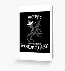 Buffy's  Adventures in Wonderland II Greeting Card
