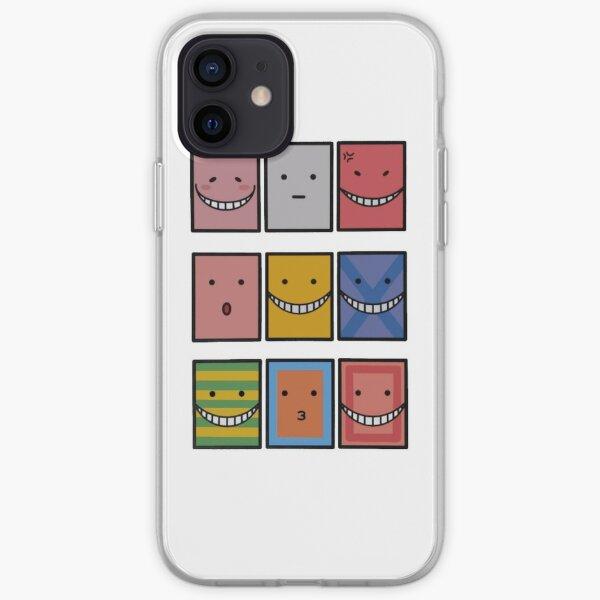 Koro Sensei tous les visages , Assassination Classroom  Coque souple iPhone