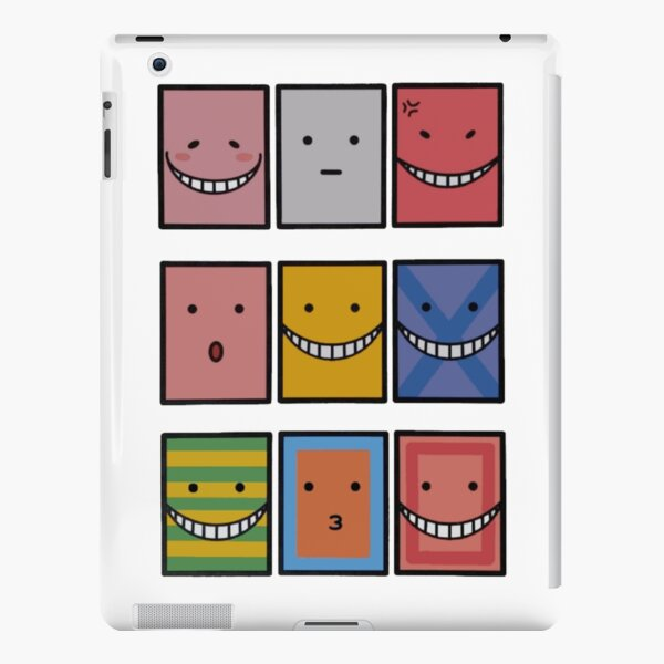 Koro Sensei tous les visages , Assassination Classroom  Coque rigide iPad