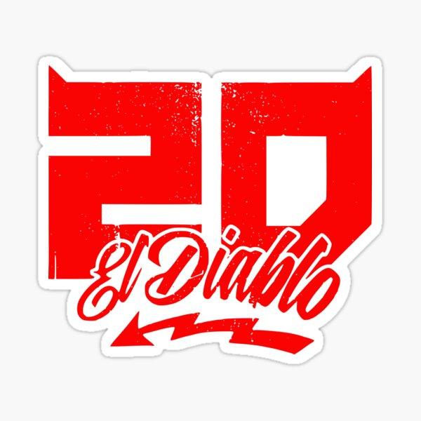 Fabio Quartararo 20 Al Diablo MotoGp FQ20 PETRONAS Motosports Champion du monde de courses de vélos Sticker