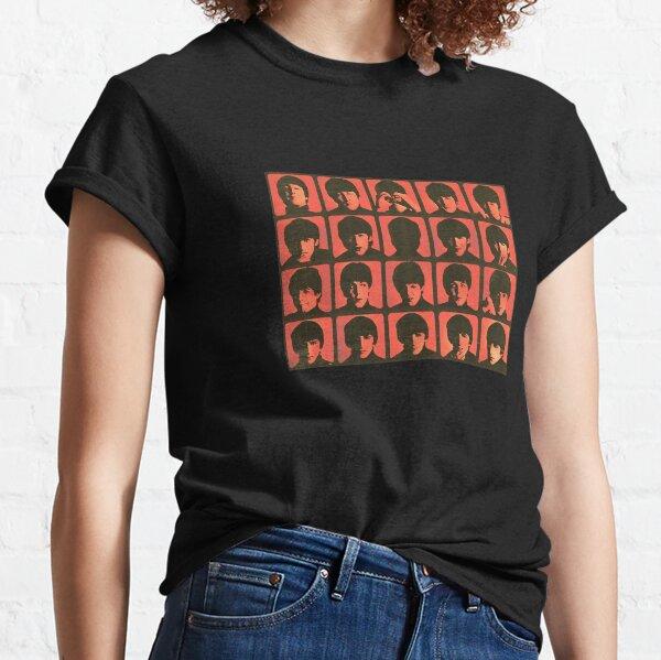 a hard day's night orange grungy vintage retro design Classic T-Shirt