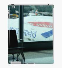 British Airways 747 ft Heathrow Terminal 5 iPad Case/Skin