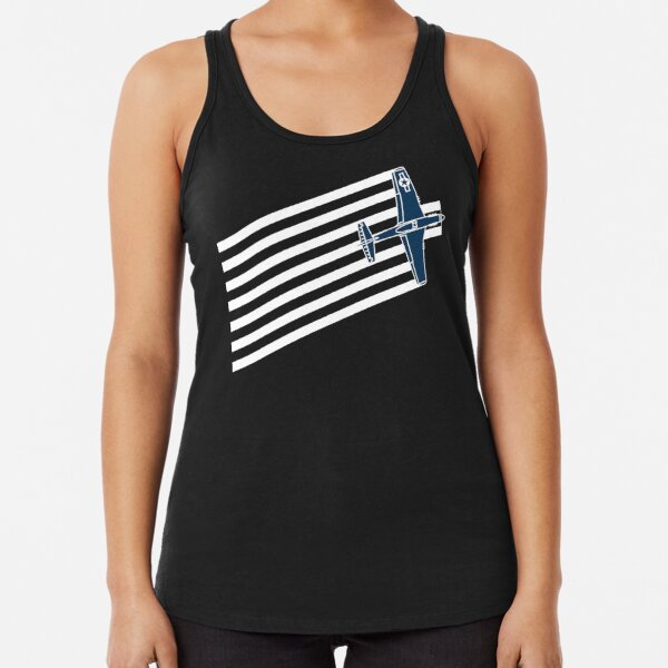 P-51 Mustang Speed Stripes Racerback Tank Top