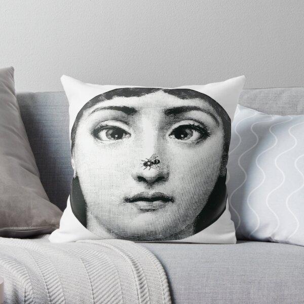 Fornasetti Fly Throw Pillow