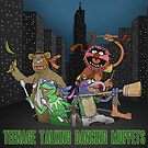 Teenage Talking Dancing Muppets by Mauro Balcazar