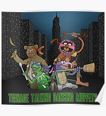 Teenage Talking Dancing Muppets Poster